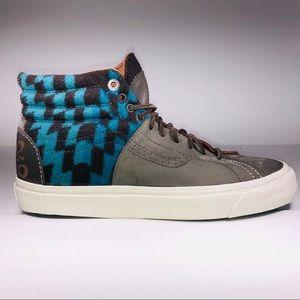 VANS Pendleton SK8 Hi Huarache LX Multicolor Shoes